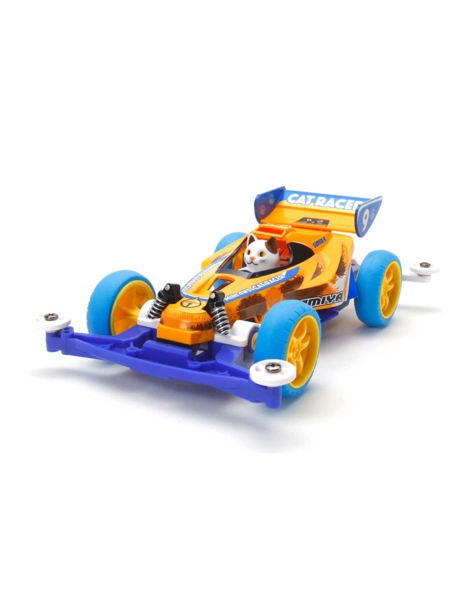 Tamiya JR Cat Racer - Super II Chassis - FULLY-BUILT