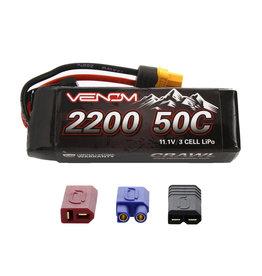 Venom Power 50C 3S 2200mAh 11.1V Rock Crawler LiPo Batt UNI (15190)