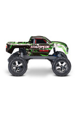 Traxxas 1/10 Stampede 2WD Brushed (GREEN): Includes Battery with DC Charger