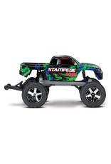 Traxxas 1/10 Stampede 2WD Brushless VXL (GREEN): No Battery, No Charger (36076-4)
