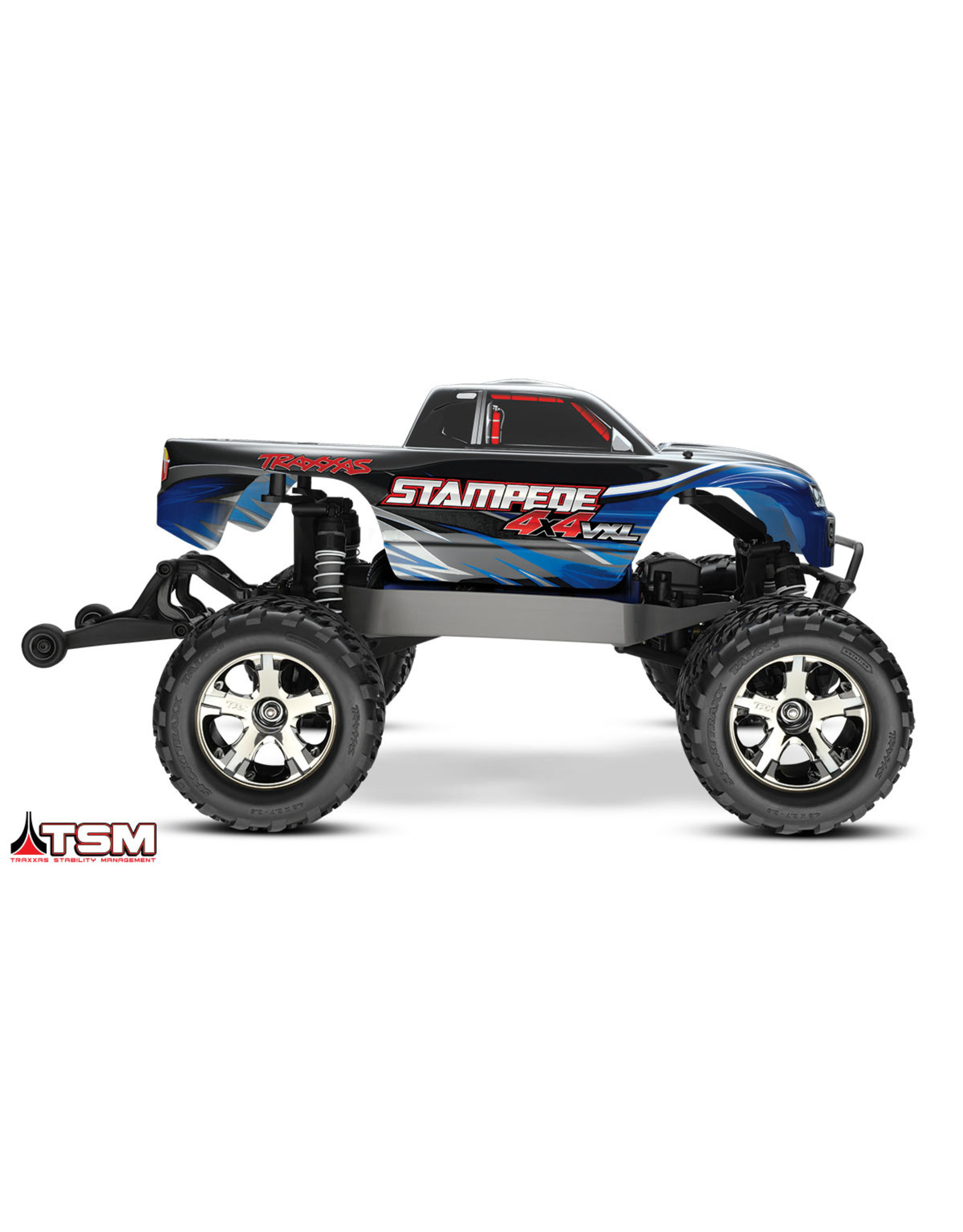Traxxas 1/10 Stampede 4X4 Brushless VXL (BLUE) (67086-4)