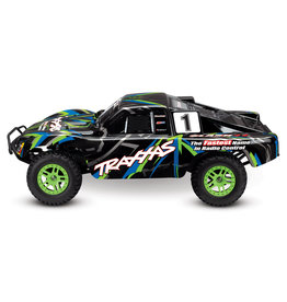 Traxxas 1/10 Slash 4X4 Brushed (GREEN/BLUE): Includes Battery with Charger