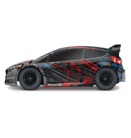 Traxxas 1/10 Rally 4X4 Brushed (Fiesta ST): No Battery, No Charger