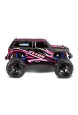 Traxxas 1/18 LaTrax Teton 4WD RTE with NiMh Battery, AC Charger, PINK