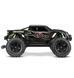 Traxxas X-Maxx: Green 4WD 8S-Capable Brushless Truck w/ TSM