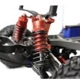 Racers Edge RACERS EDGE - SLASH 2/4WD ALUMINUM FRONT SHOCK (PR) - RED  (RCE1849R)