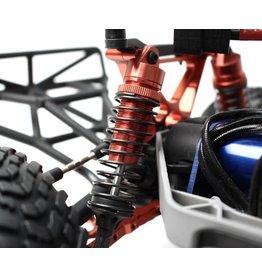 Racers Edge RACERS EDGE - SLASH 2/4WD ALUMINUM REAR SHOCK (PR) - RED (RCE1850R)