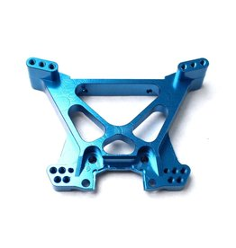 Racers Edge Slash 4WD Aluminum Rear Shock Tower- Blue