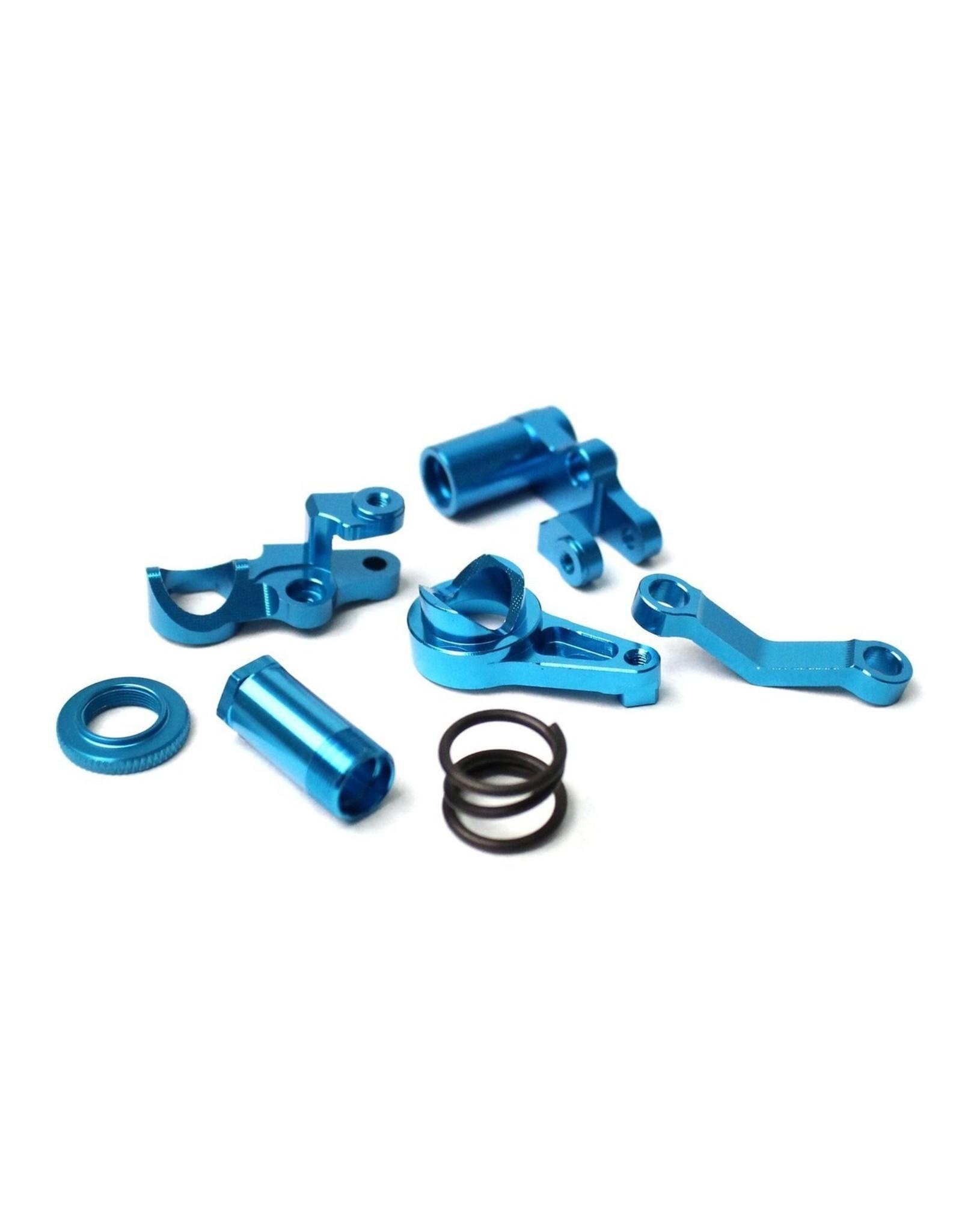 Racers Edge Slash 4WD Aluminum Servo Saver Blue  (RCE1846BL)