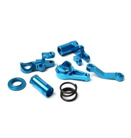 Racers Edge Slash 4WD Aluminum Servo Saver Blue  (RCE1846BL)