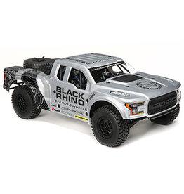 Losi 1/10 Ford Raptor Baja Rey 4WD Black Rhino Brushless RTR, King Shocks