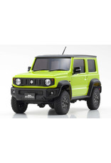 Kyosho Kyosho Mini-Z 4X4 Suzuki Jimny Sierra Kinetic Yellow Ready Set (32523Y)