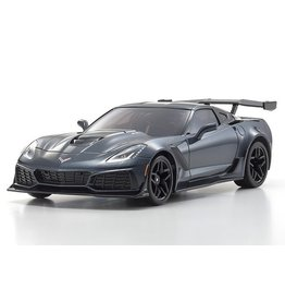Kyosho ASC MR-03W-MM Chevrolet Corvette ZR1 Sebring Shadow Gray Metallic (MZP240GM)
