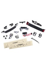 Traxxas LED light set, complete with power supply (contains headlights, tail lights, & distribution block) (fits #8111 or #8112 body)(8085)