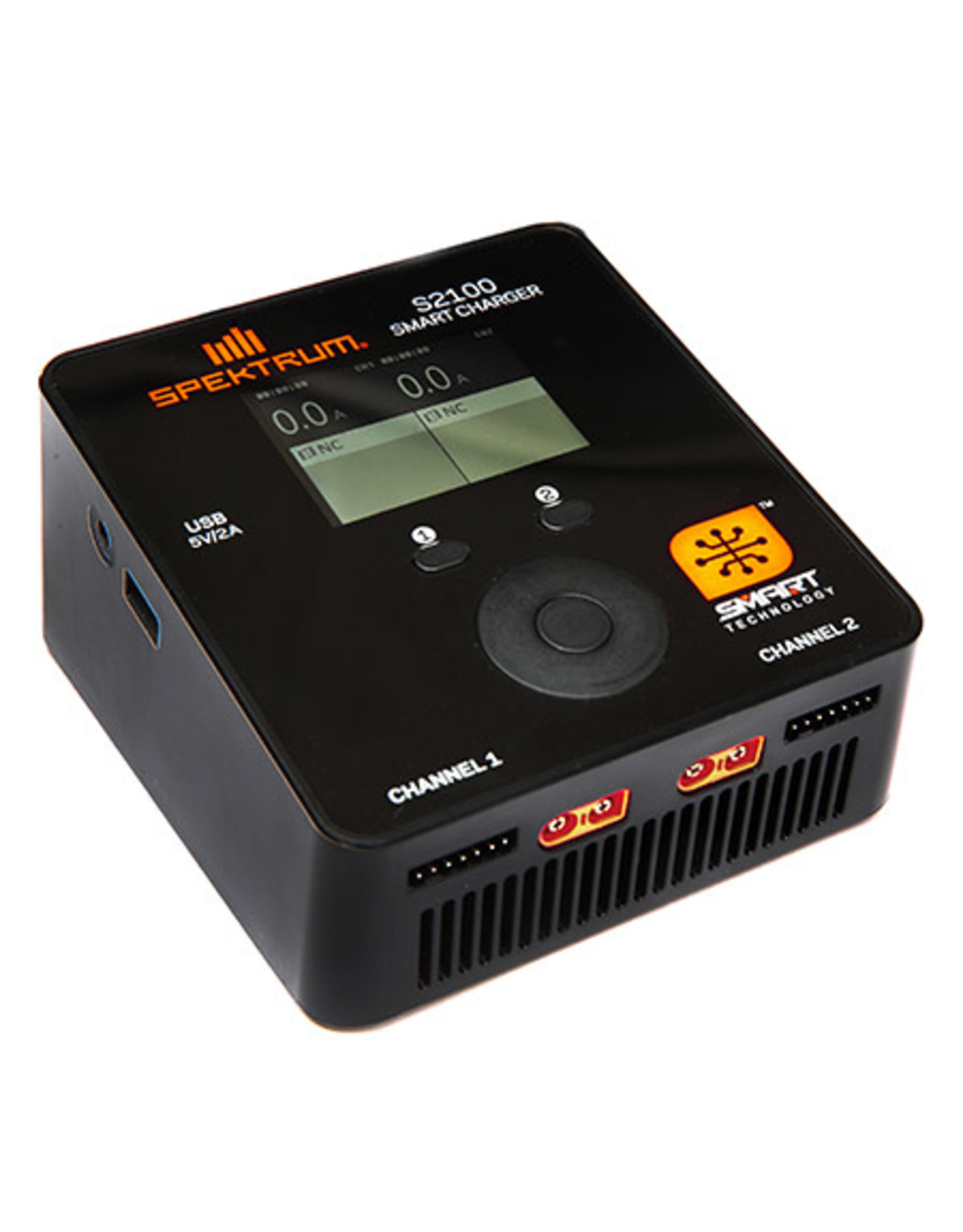 Spektrum Spektrum Smart S2100 AC Charger, 2x100W (SPMXC1010)