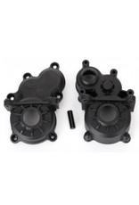 Traxxas Gearbox halves (front & rear)/ idler gear shaft