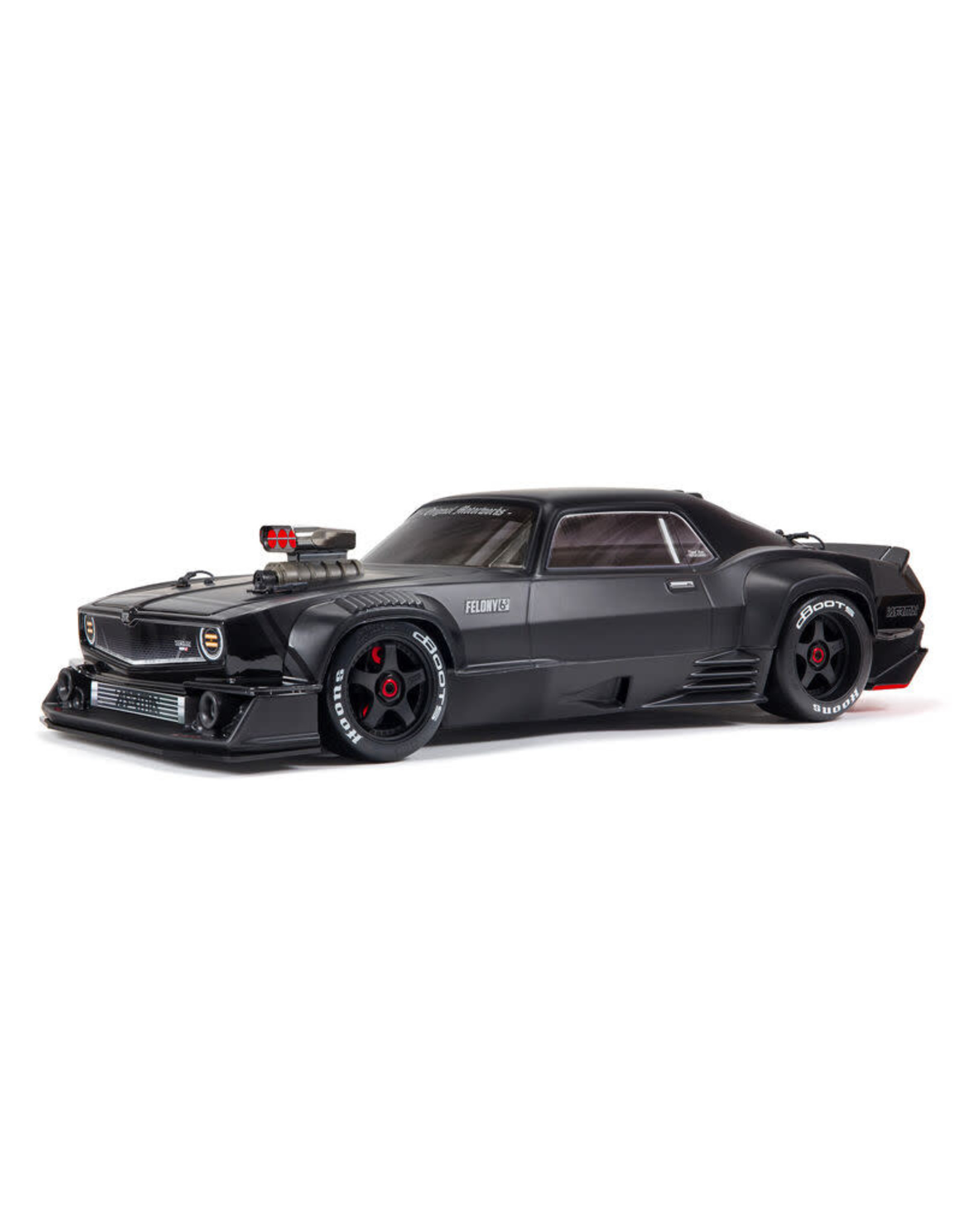 Arrma 1/7 FELONY All-Road Muscle Bash 6S BLX with Spektrum RTR with AVC (BLACK)