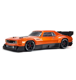 Arrma 1/7 FELONY All-Road Muscle Bash 6S BLX with Spektrum RTR with AVC (ORANGE)