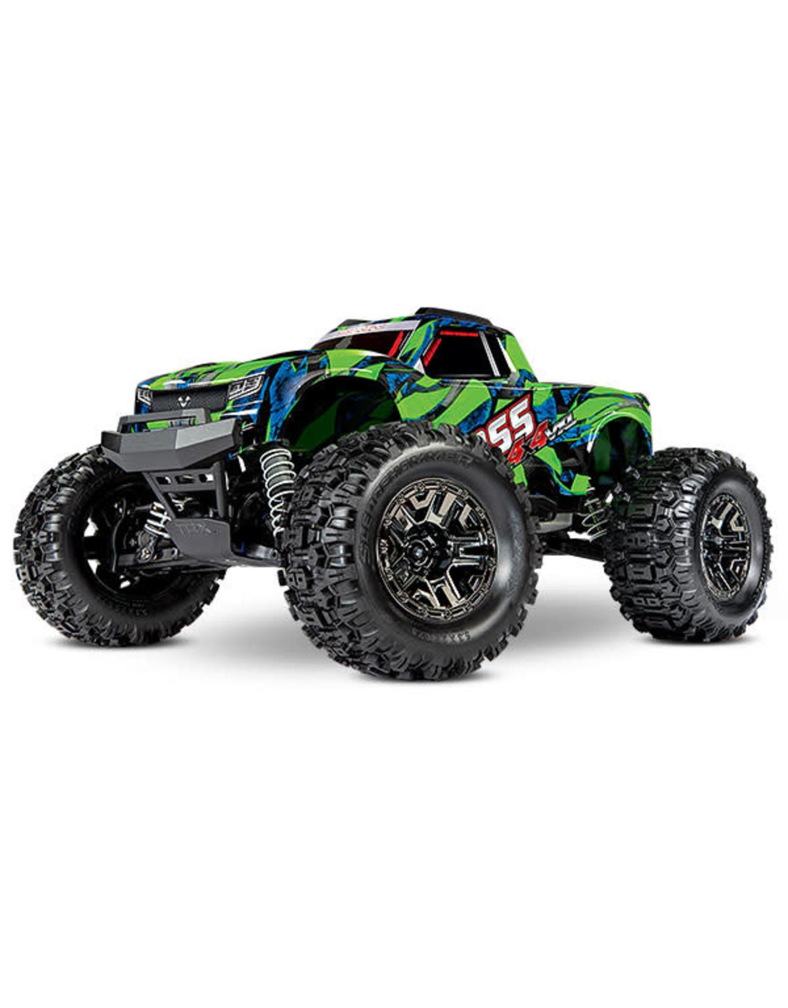 Traxxas HOSS: 1/10 4WD 3S-Capable Brushless Monster Truck (GREEN)(90076-4)