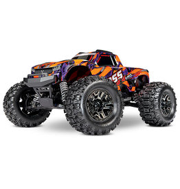 Traxxas HOSS: 1/10 4WD 3S-Capable Brushless Monster Truck (ORANGE)(90076-4)