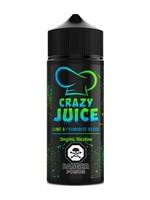 crazy juice Lime Blue Raspberry