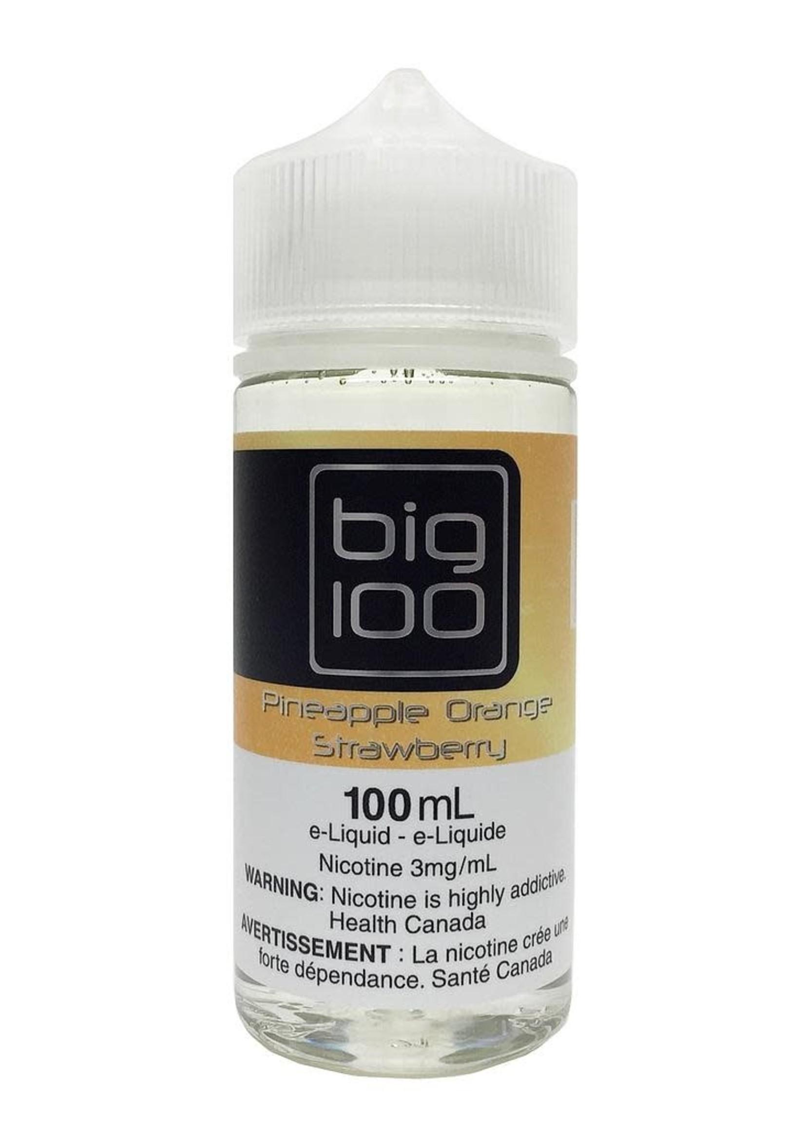 Big 100 Pineapple  Orange Strawberry