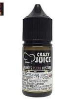 crazy juice Mukkies Pecan Custard Salt