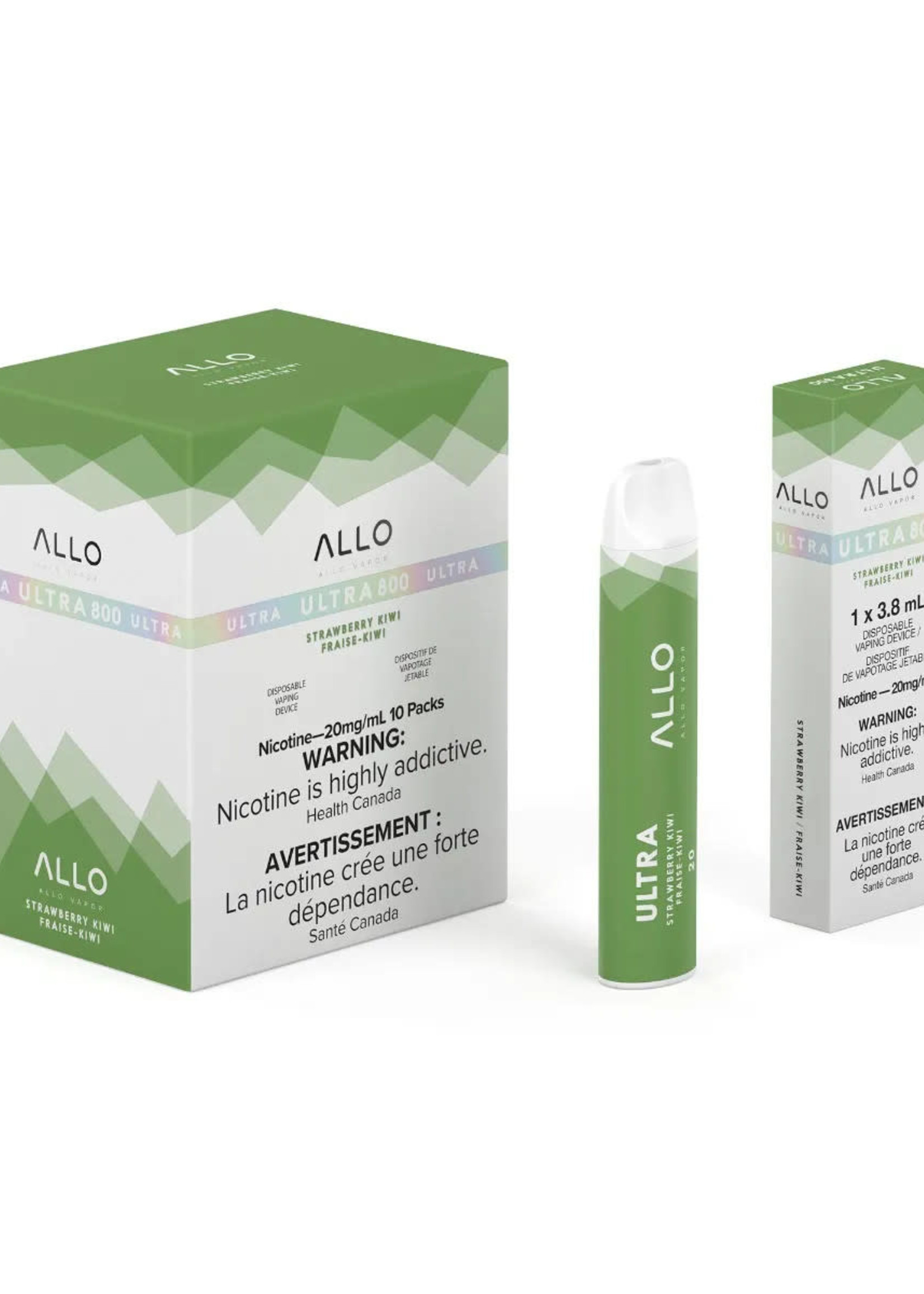 allo Allo - Strawberry Kiwi
