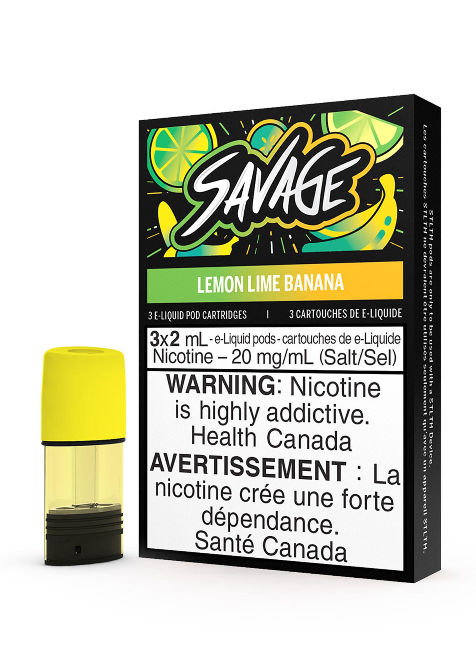 STLTH STLTH Savage Lemon Lime Banana