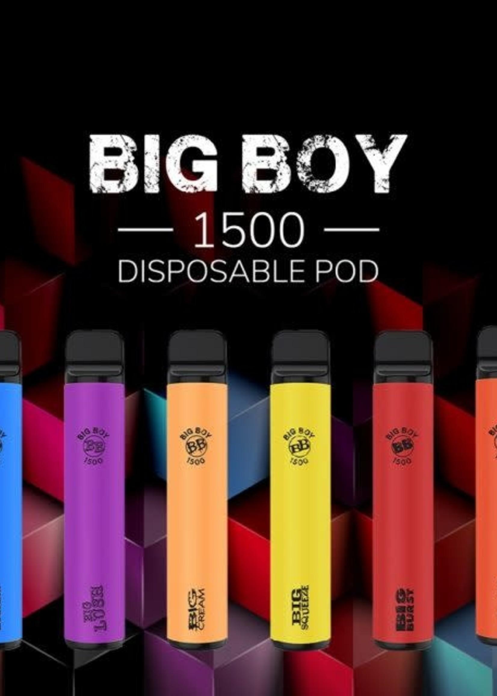 Maddog Big Boy 1500puff disposable