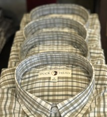 Duck Head Caden Performance Plaid Shirt