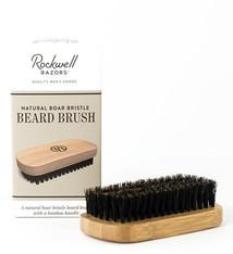Permabrands Rockwell Razors Natural Boar Bristle Beard Brush