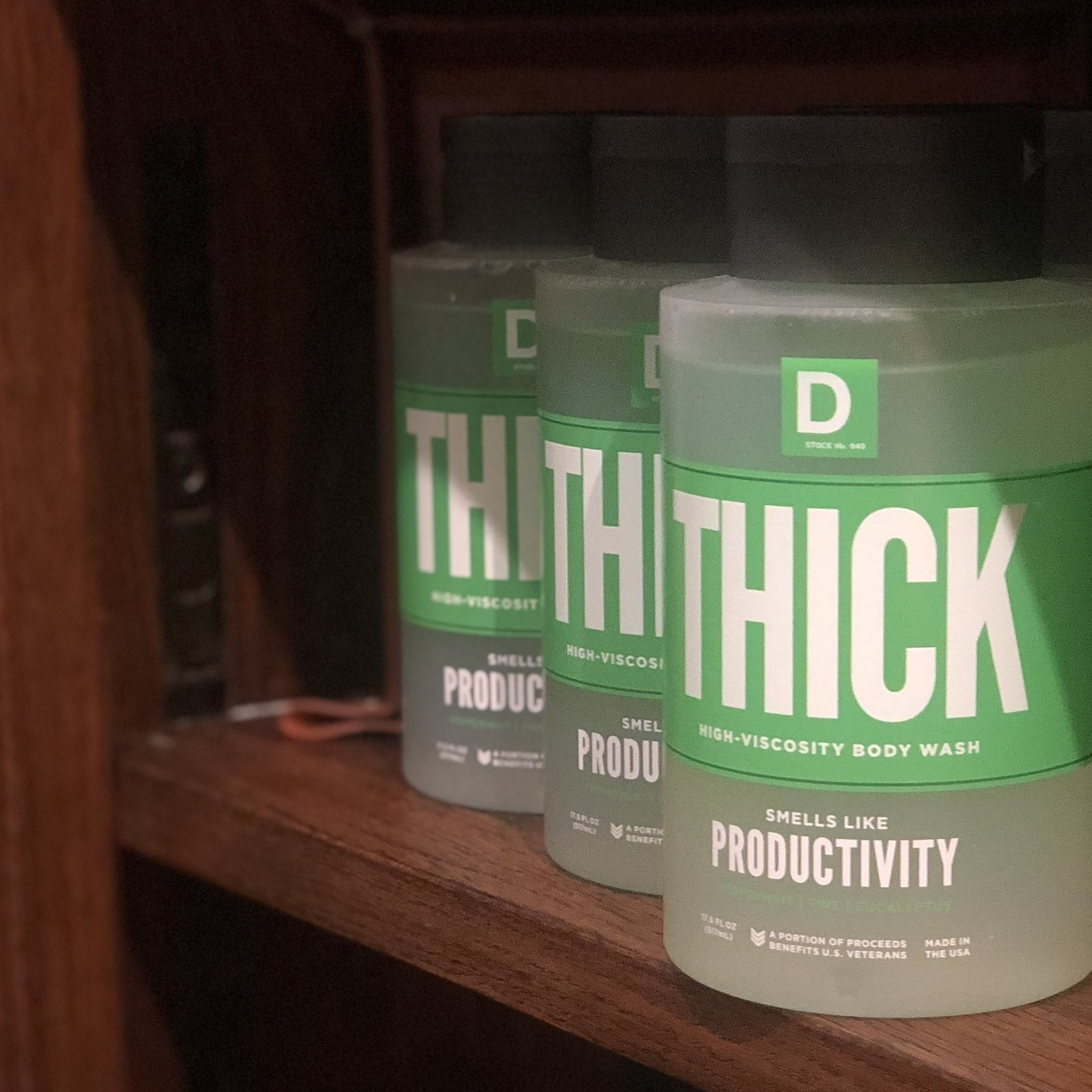 Duke Cannon THICK High-Viscosity Body Wash
