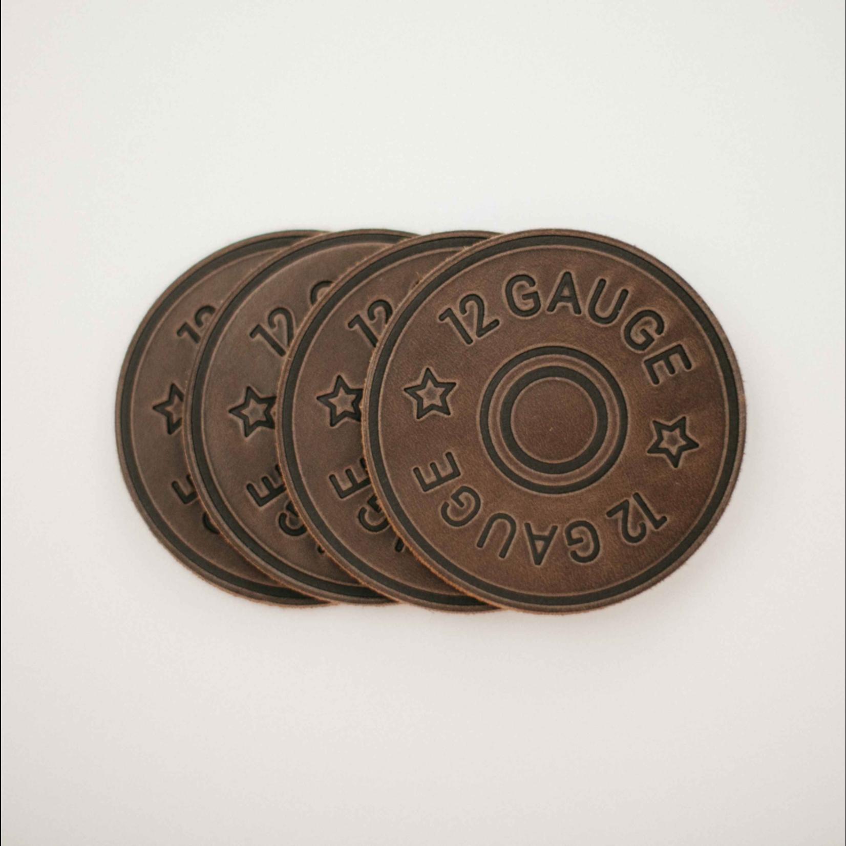 Clayton and Crume 12 Gauge Coasters