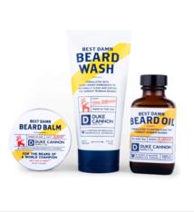 Duke Cannon Best Damn Beard Kit