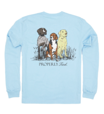 Properly Tied Triple Dog T-shirt