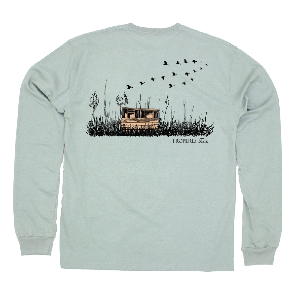 Properly Tied Duck Blind T-shirt