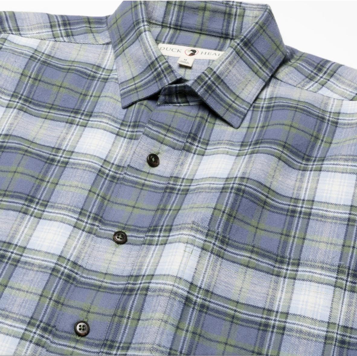 Duck Head Plainfield Plaid Flannel Shirt