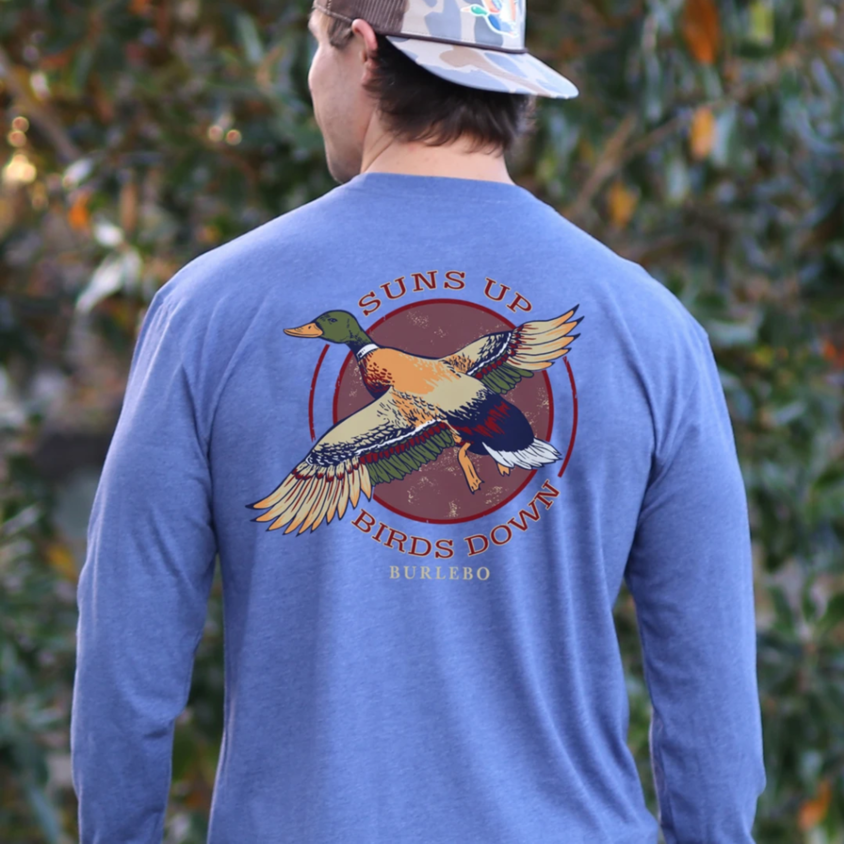 "Burlebo ""Sun's Up, Birds Down"" LS T-shirt"