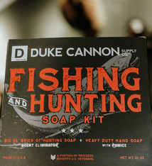 Duke Cannon Hunting and Fishing Soap Kit