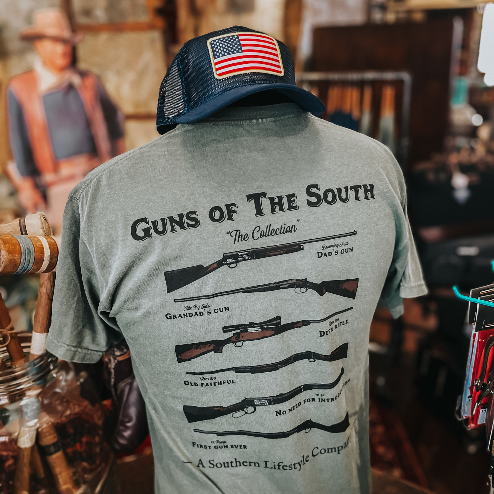 A Southern Lifestyle Guns of the South T-shirt