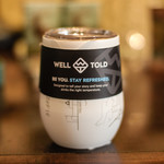 Well Told Well Told Laurel Insulated Wine Glass