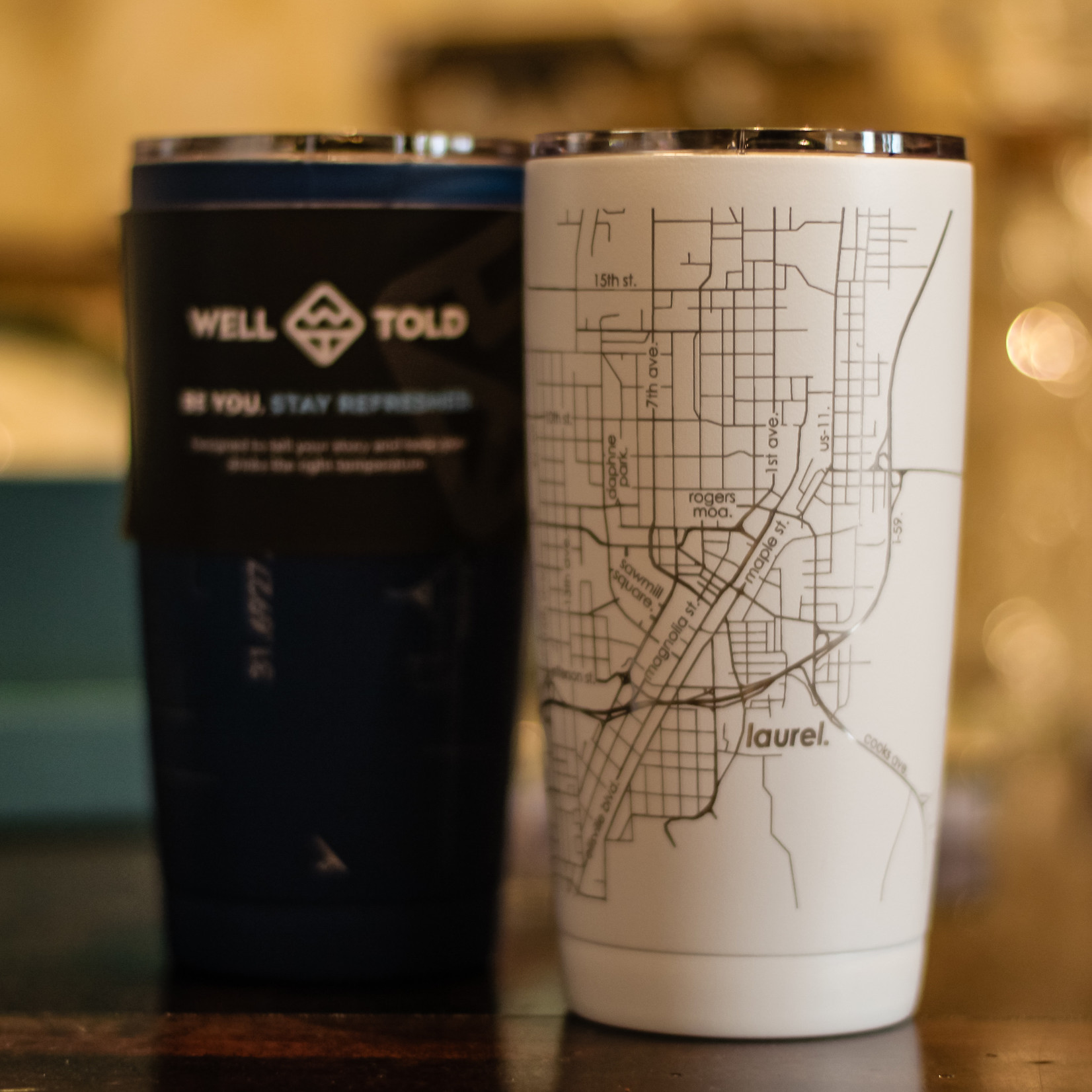 Well Told Well Told Laurel Tumbler