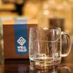 Well Told Well Told Laurel Glass Coffee Mug