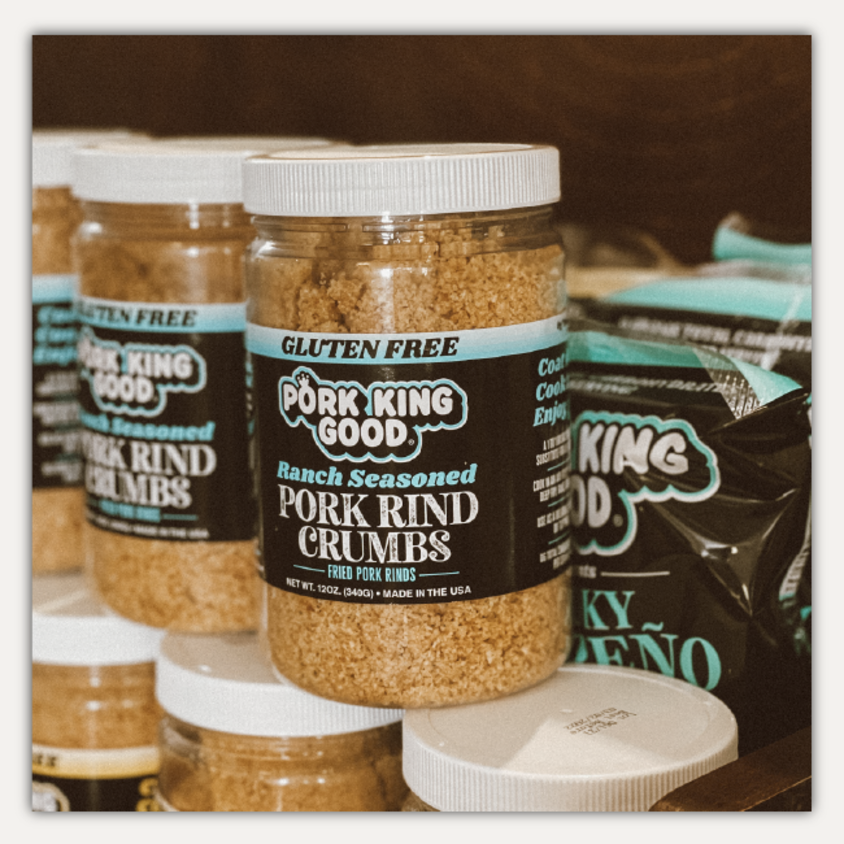 Pork King Good Ranch Pork Rind Crumbs