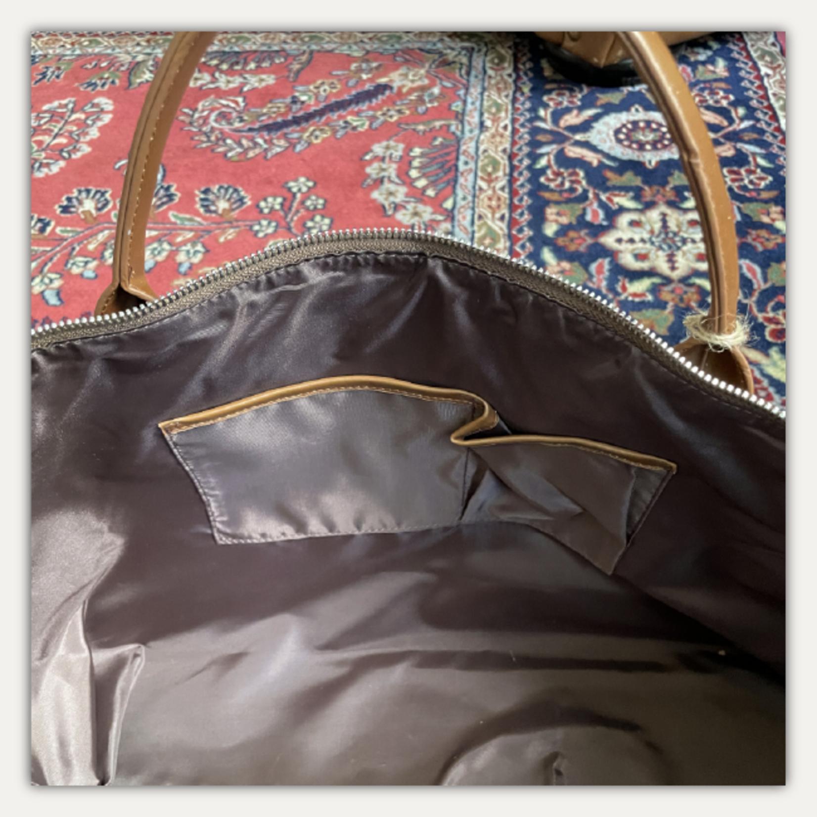 Brouk & Co. Alpha Leather Duffle Bag