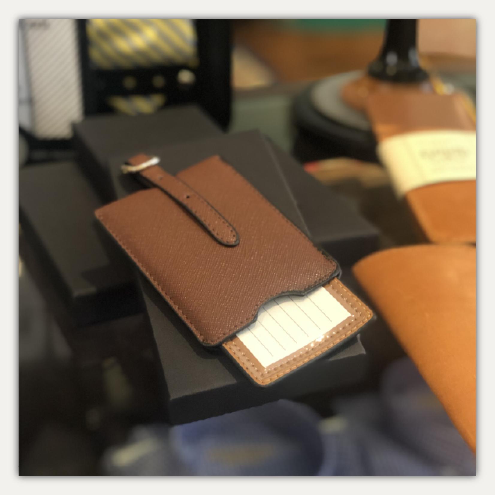 Brouk & Co. Chestnut Luggage Tag