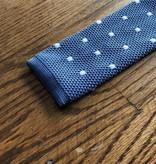 Peter Blair Peter Blair Knit Tie Blue / White Dots