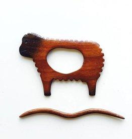 Sheep Shawl Pin