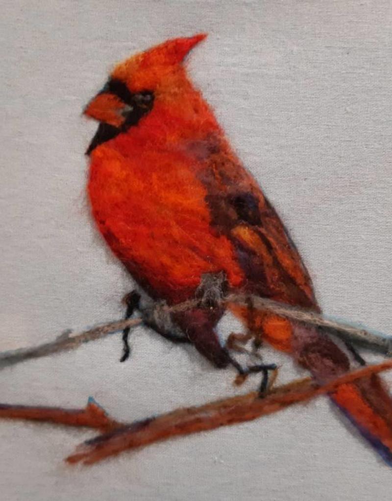 Needle Felting Portrait Class - Feb. 24th 10am-4pm